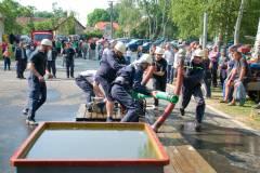 Lesná - okrsková soutěž v požárním útoku 26.06.2010